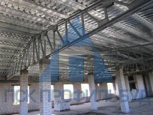 Внешний вид легких стальных тонкостенных конструкций